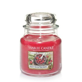 Yankee Candle Mittlere Kerze Red Raspberry