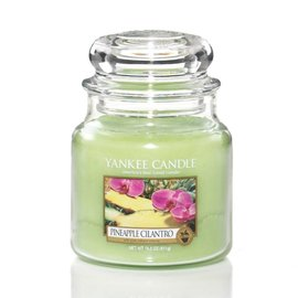 Yankee Candle Mittlere Kerze Pineapple Cilantro