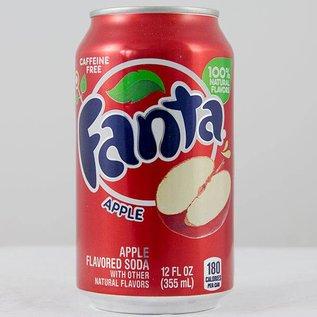 Coca Cola Fanta Apple