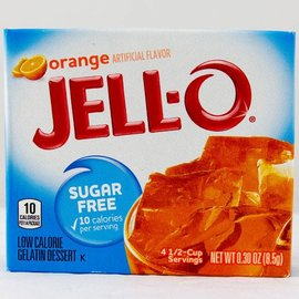 Jello Jello Orange Sugarfree