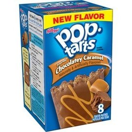 Kellogs Kellogs Pop Tarts Frosted Chocolatey Caramel