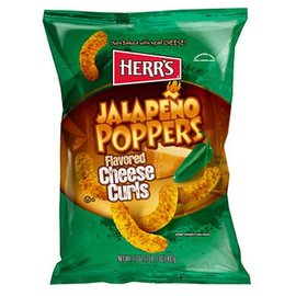 Herr Foods Inc Heer's Jalapeno flavored Cheese Curls