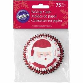 Wilton Wilton Papierbackförmchen Weihnachtsmann