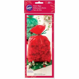 Wilton Wilton Party Bags Red & Green