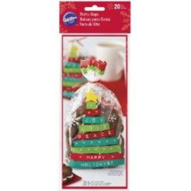 Wilton Wilton Party Bags Merry & Bright