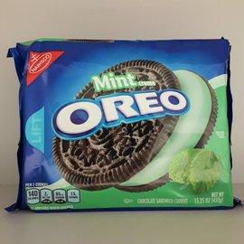 Nabisco Oreo Mint Creme Cookies