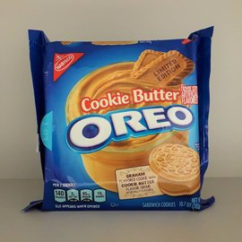 Nabisco Oreo Cookie Butter Cookies Limited Edition