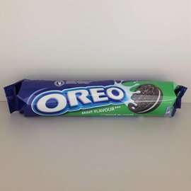 Nabisco Oreo Mint Creme Cookies Rolle