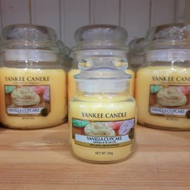 Yankee Candle Kleine Kerze Vanilla Cupcake