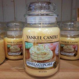 Yankee Candle Große Kerze Vanilla Cupcake