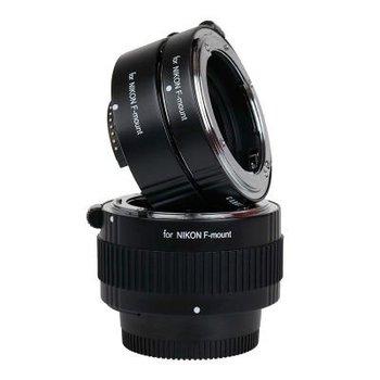 Caruba Caruba Tussenring set Nikon F Chroom