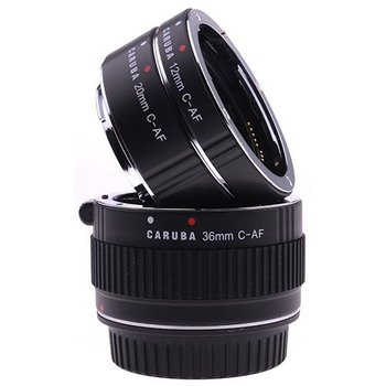 Caruba Caruba Extension Tube set Canon Chroom