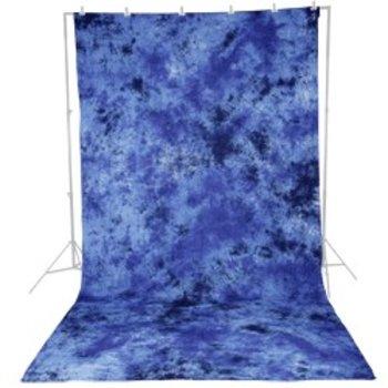 Walimex Achtergronddoek  2,8x5,8m Donker Blauw