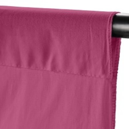Walimex Cloth Background 2,85x6m, rose wine