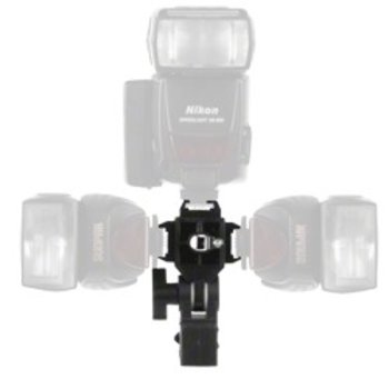 Walimex Houder voor 3 compactflitsers en paraplu