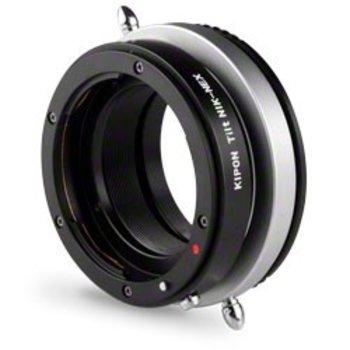 Walimex Tilt Adapter Nikon naar Sony NEX.