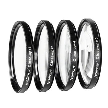 Walimex Close-up Macro Lenzen Set 55 mm
