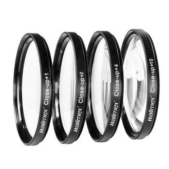 Walimex Close-up Macro Lenzen Set 77 mm