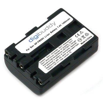 Walimex NP-FM55H/NP-QM51 1x Li-ion batterij voor Sony, 1400mAh.
