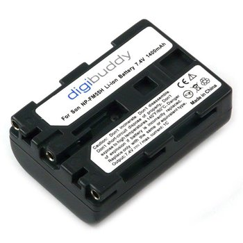 Walimex NP-FM55H/NP-QM51 Li-Ion Battery for Sony, 1400mAh