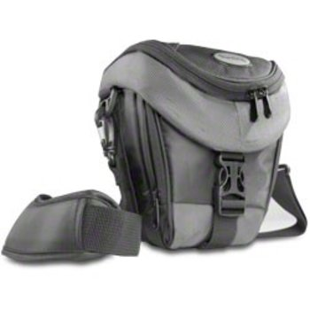 mantona Holster Bag Premium, black/gray