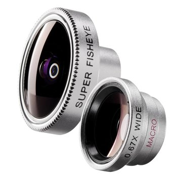 Walimex Set Fisheye and Panorama Lens for iPhone