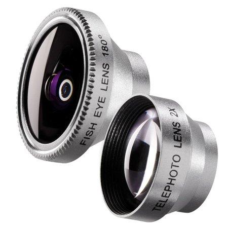 Walimex Set Fisheye and Tele Lens for iPhone