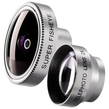 Walimex Super Fisheye en Panorama Lens set voor iPhone
