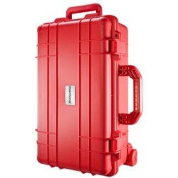 mantona Outdoor Protective Trolley, red