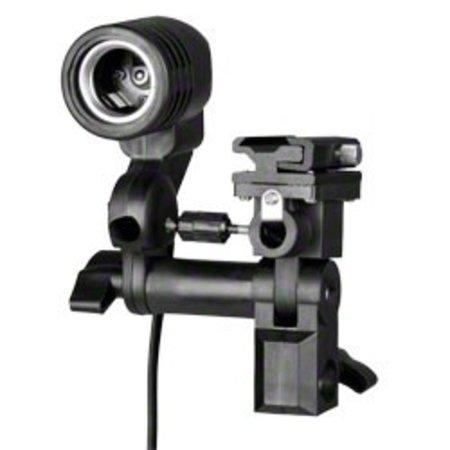 Walimex Lamp Holder E27+ Hotshoe