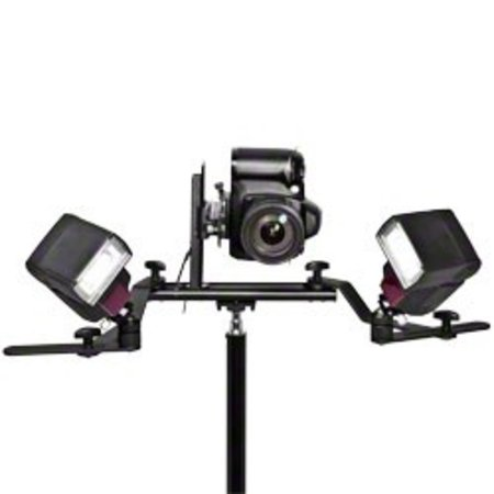 Walimex Macro Flash Rail Pro with Y-Cable Canon