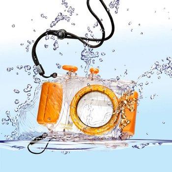 Walimex Waterdichte onderwaterbehuizings 40m, Oranje