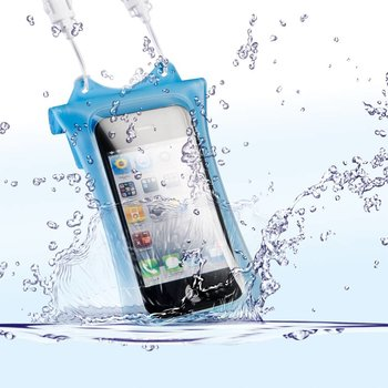 Dicapac WP-i10 Underwater Bag for iPhone & iPod, blue