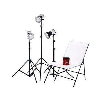 Walimex Studioset Daglicht ight 150/150/150 + opnametafel
