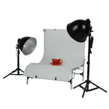 Walimex Studioset Daylight 150/150 Basic + Table