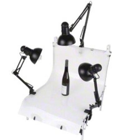 Walimex Set 3 Daylights, 3x 125W + Shooting Table