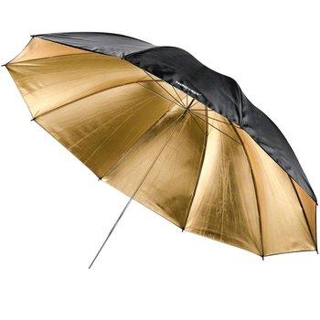 Walimex pro Reflex Umbrella black/golden 2 lay.,150cm