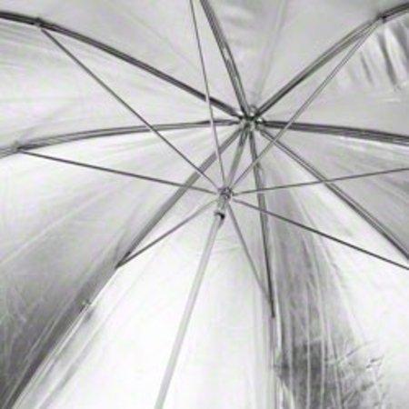 Walimex pro Reflex Umbrella black/silver 2 lay., 109cm