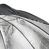 Walimex pro Reflex Umbrella black/silver 2 lay., 150cm