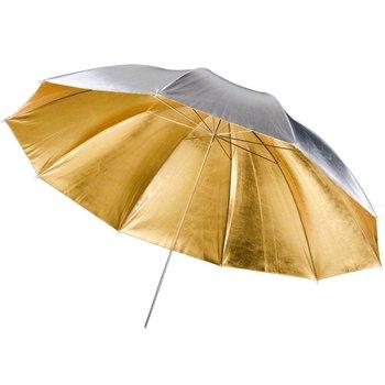 Walimex pro Reflex Umbrella 2in1 golden/silver, 150cm