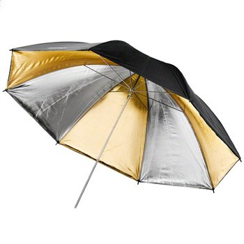 Walimex pro Reflectie Studio Paraplu Dual goud/zilver 84cm