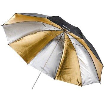 Walimex pro Reflex Umbrella Dual gold/silv 2 lay 150cm