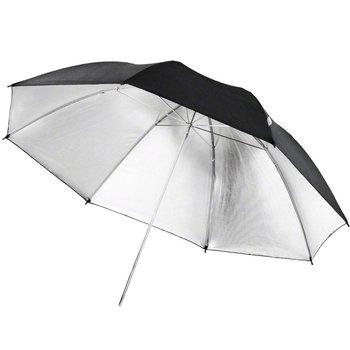 Walimex pro Reflectie Studio Paraplu zwart/zilver 84cm