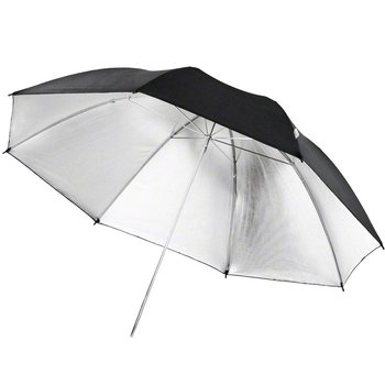 Walimex pro Reflex Umbrella black/silver, 84cm