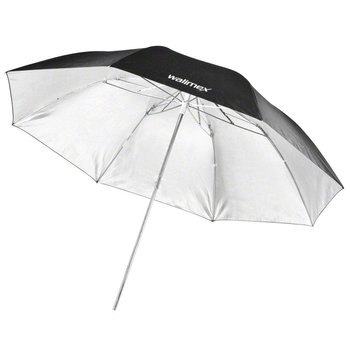 Walimex pro Mini Reflex Studio Paraplu Zwart / Zilver, 91cm