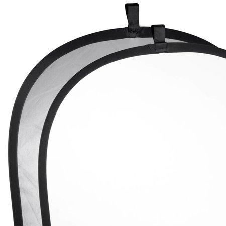 Walimex Foldable Reflector silver/white, 102x168cm