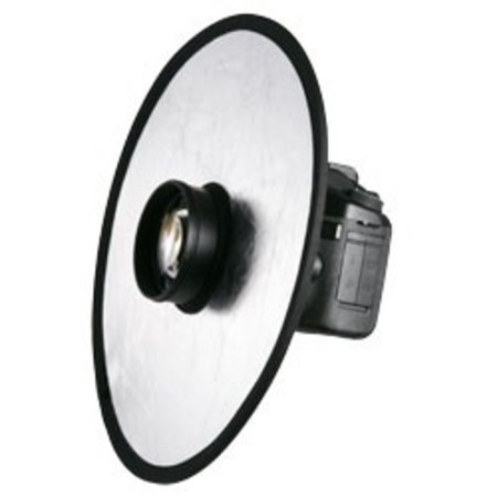 Walimex Lens Reflector silver/golden, 30cm
