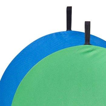 Walimex Foldable Background blue/green, 60cm