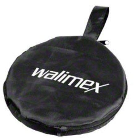 Walimex Foldable Reflector golden/silver, 56cm