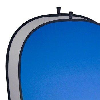Walimex Foldable Background gray/blue, 150x200cm